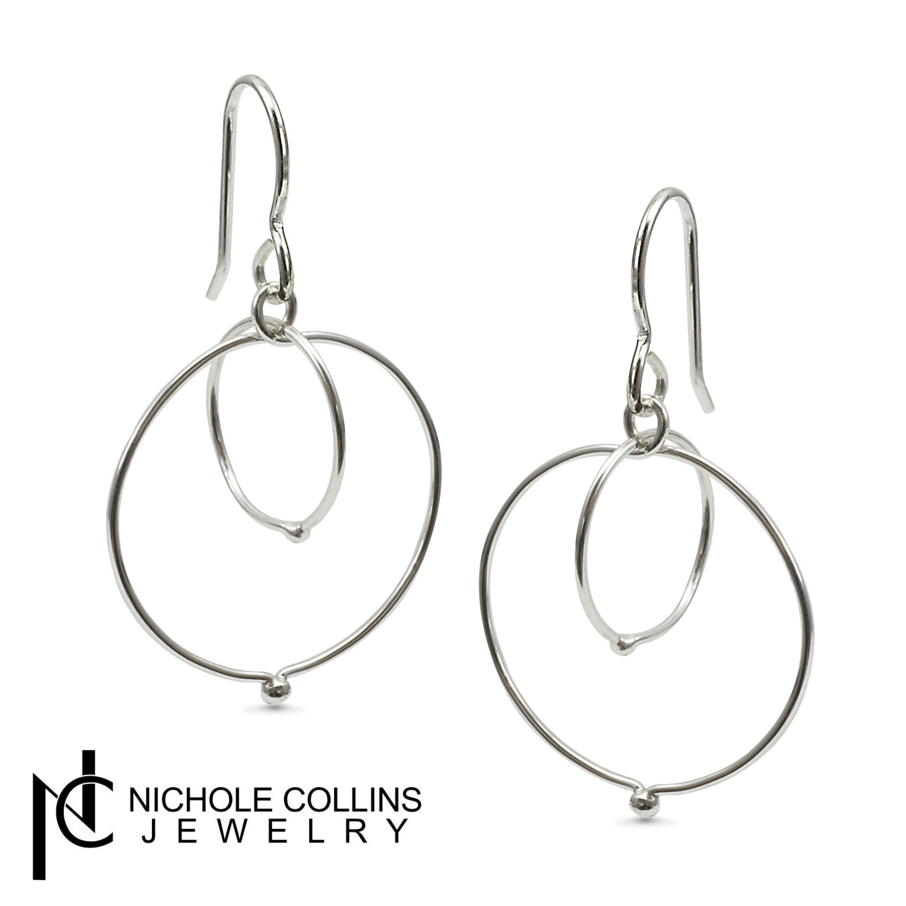 A simple yet elegant pair of staple earrings from Nichole Collins Jewelry.