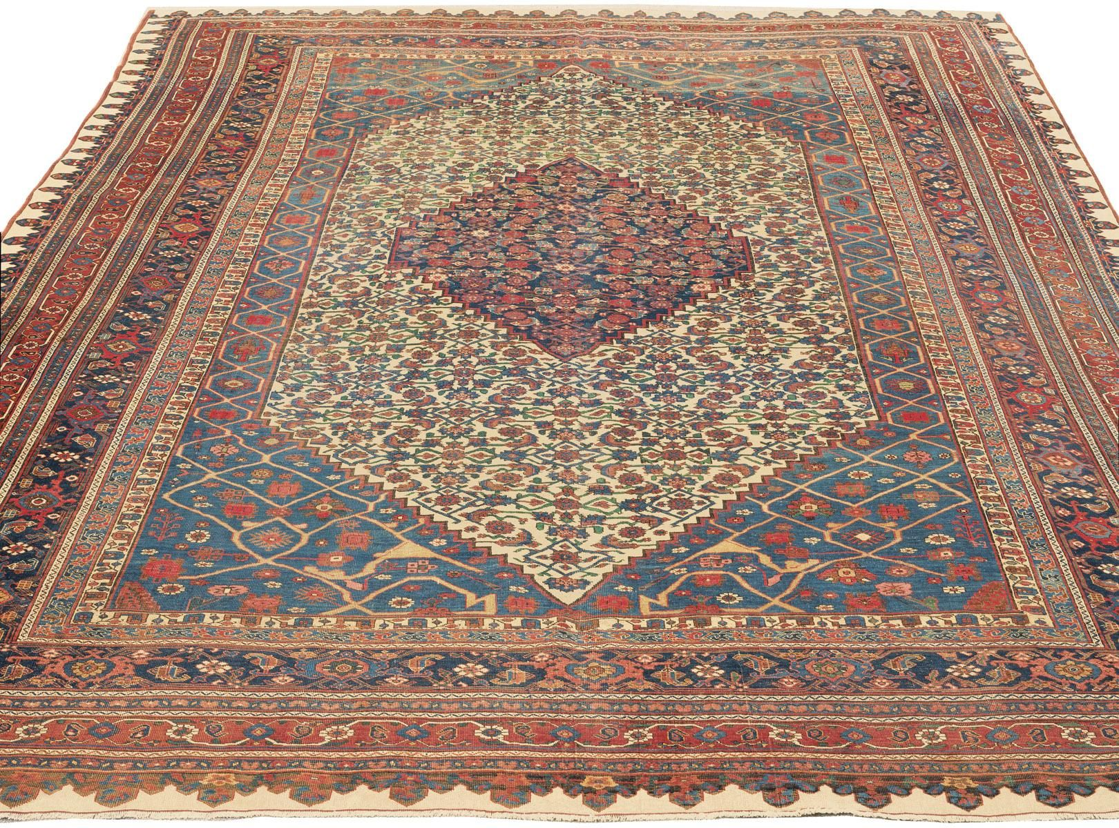 Guide To The Art And Origins Of Antique Persian Bijar Bidjar Rugs Antique Persian Carpet Rugs Claremont Rug Company