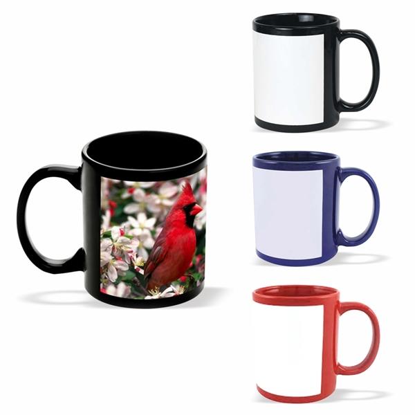 11 oz. Photo Ceramic Coffee Mug with Handle Mugs, Coffee