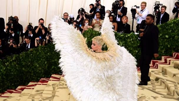 Rihanna, Katy Perry and Clooney turn heads at Met Gala