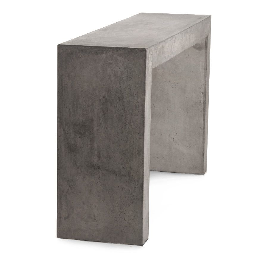 Indoor/Outdoor Concrete Console Table