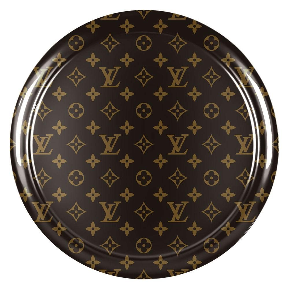 Louis Vuitton Print Hard Plastic Face Jeep Wrangler JK Tire Cover