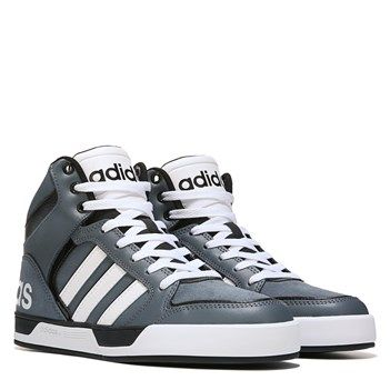 adidas Neo Raleigh 9TIS High Top Sneaker Grey/Black/White