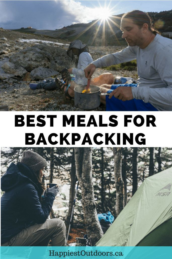 How to Choose the Best Backpacking Meals  1cbae5011f