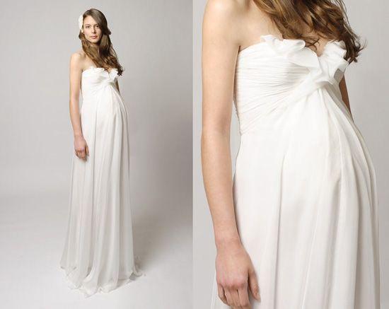 Pregnancy Bridal Gowns