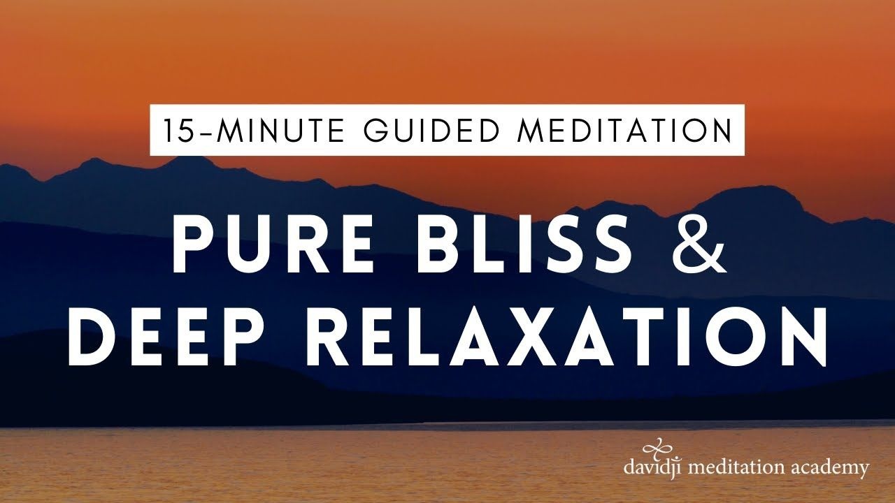 15 Minute Guided Meditation for Deep Relaxation (Good for