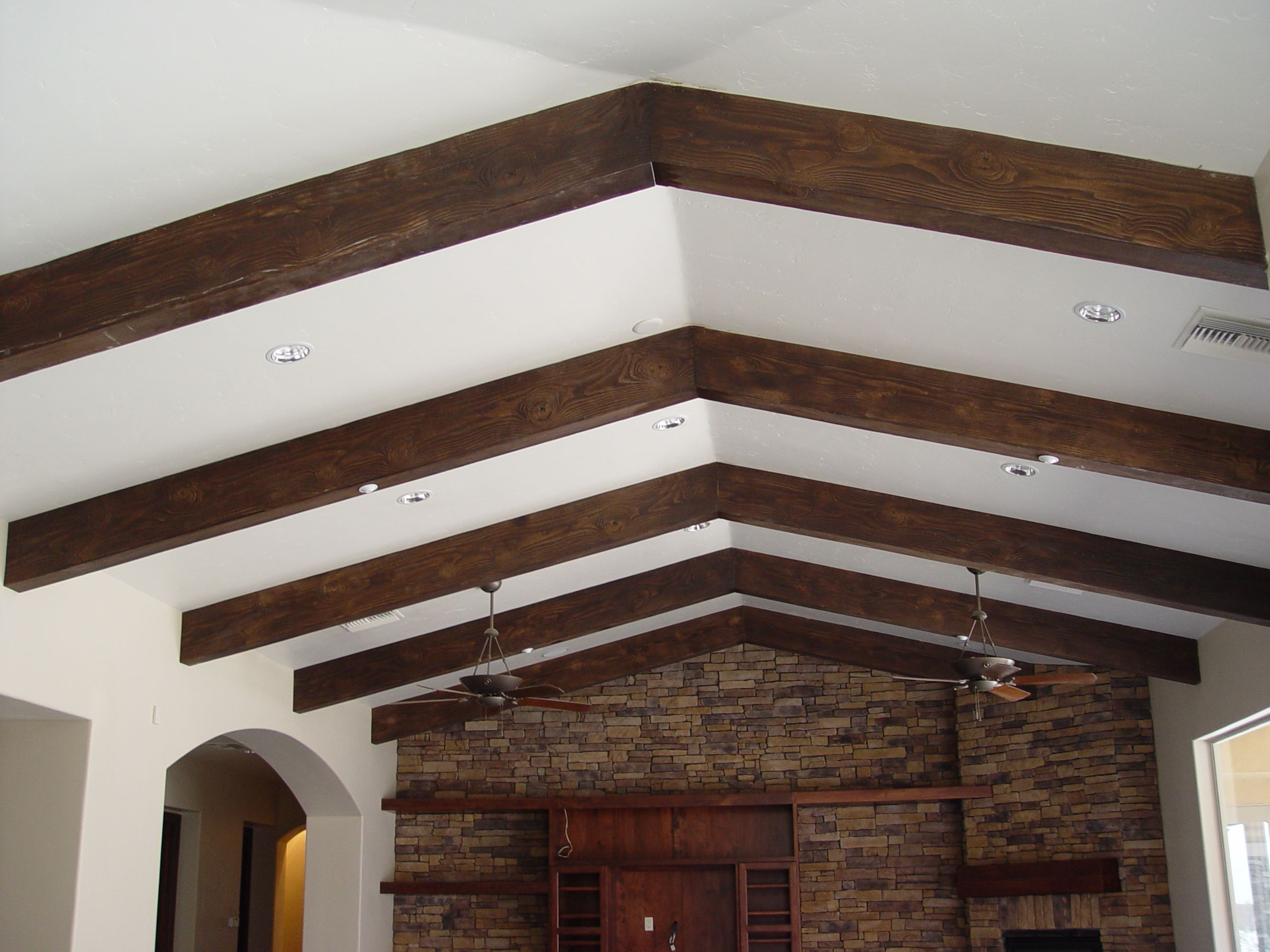 Exposed Ceiling Beams Ideas Fake Wood Beams Faux Ceiling B