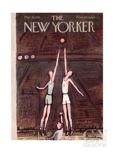 The New Yorker Cover - March 10, 1951 Poster Print by Abe Birnbaum at the Condé Nast Collection