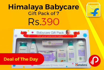 Flipkart #DealofTheDay is offering 8% off on Himalaya Babycare Gift Series at Rs...
