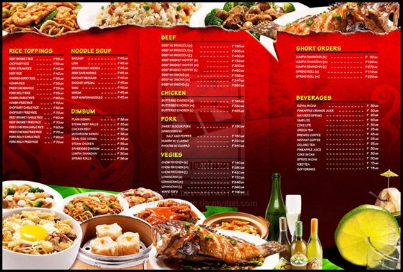 Hervorragend Ideas diseño cartas menus restaurantes ejemplos minutas  QX52