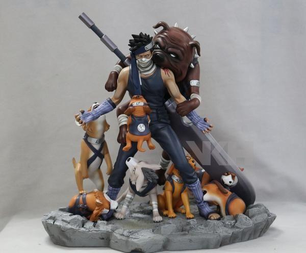 Naruto Vkh Kakashi Hatake Vs Zabuza Momochi Resin Statue