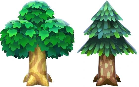 Tree Animal Crossing New Leaf Wiki Fandom Animal Crossing Tree Drawing Bamboo Drawing