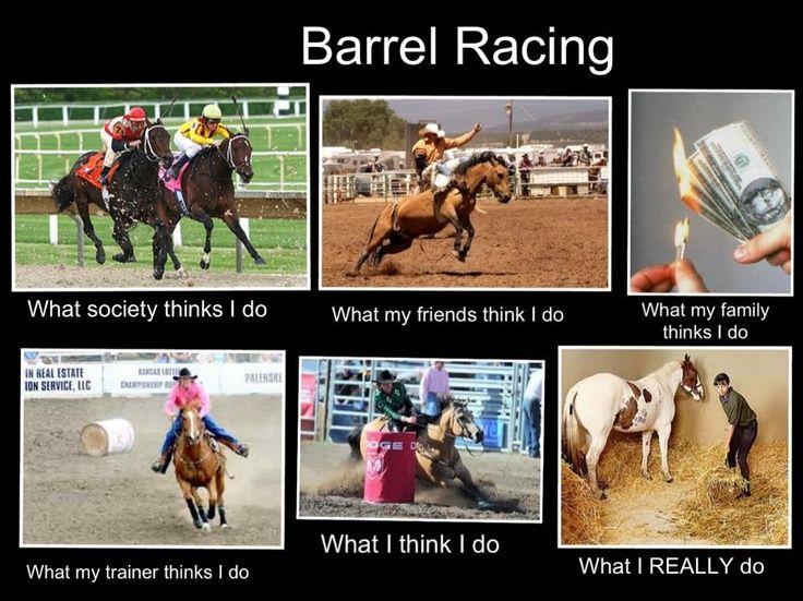 Barrel Racing Its My Life Humor