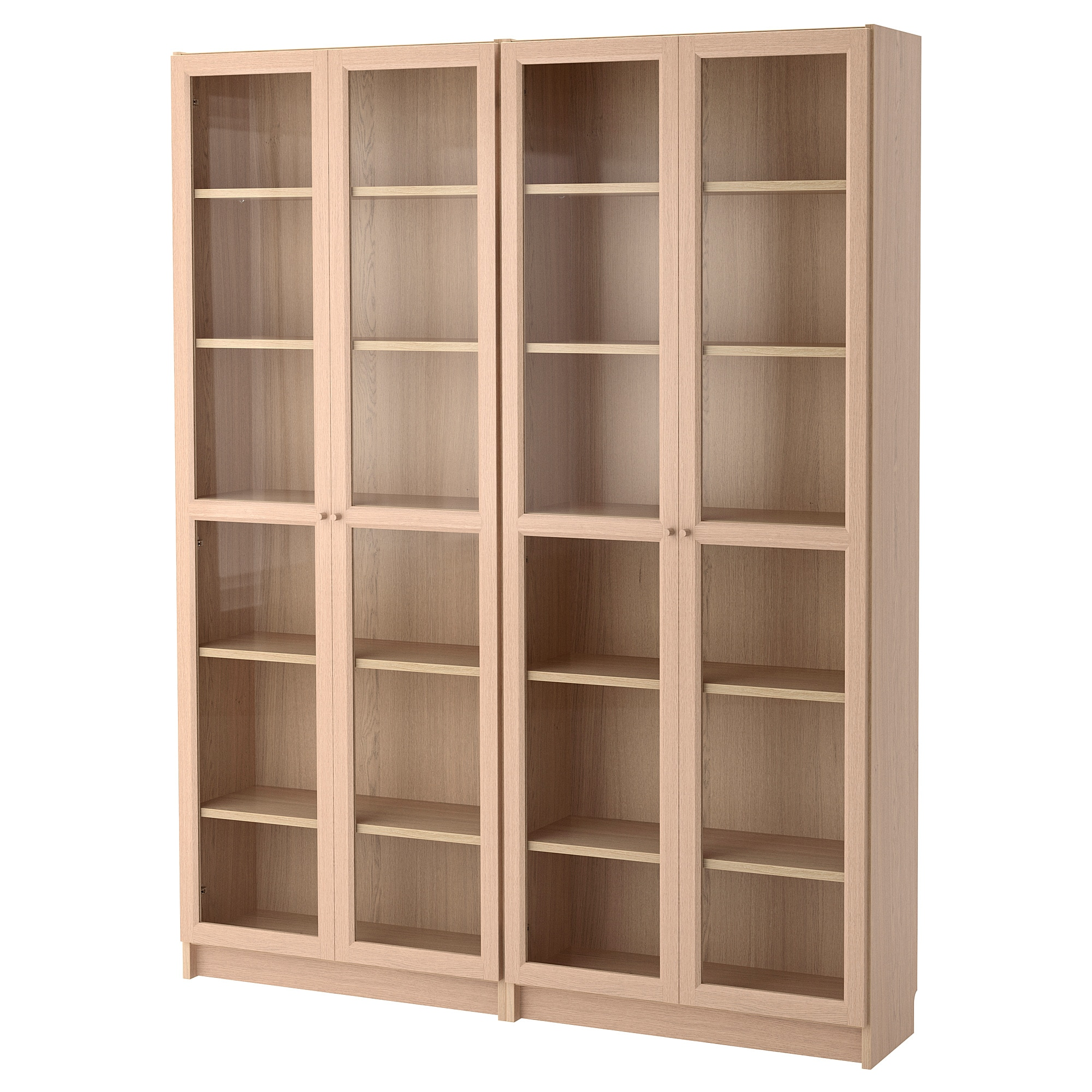 Billy Oxberg Bookcases Ikea Mit Bildern Bucherschrank Mit Glasturen Billy Oxberg Bucherregal Aus Holz