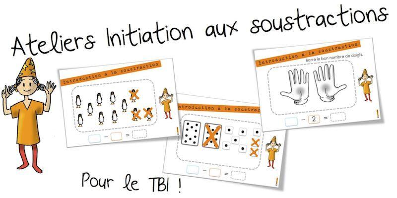 Ateliers initiation aux soustractions soustraction fiches et atelier - Addition et soustraction ce1 ...