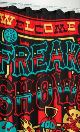 Duschvorhang Freak Show