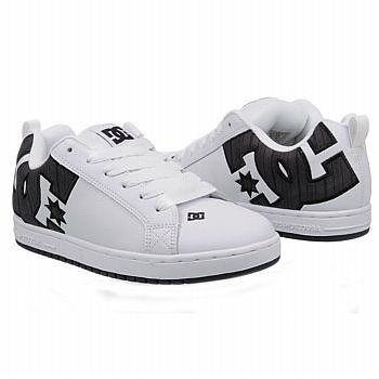 DC Shoes Men's Court Graffik Pinstripe I have These
