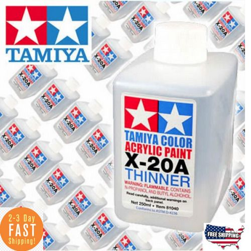 details about paint thinner model kit acrylic enamel resin remover