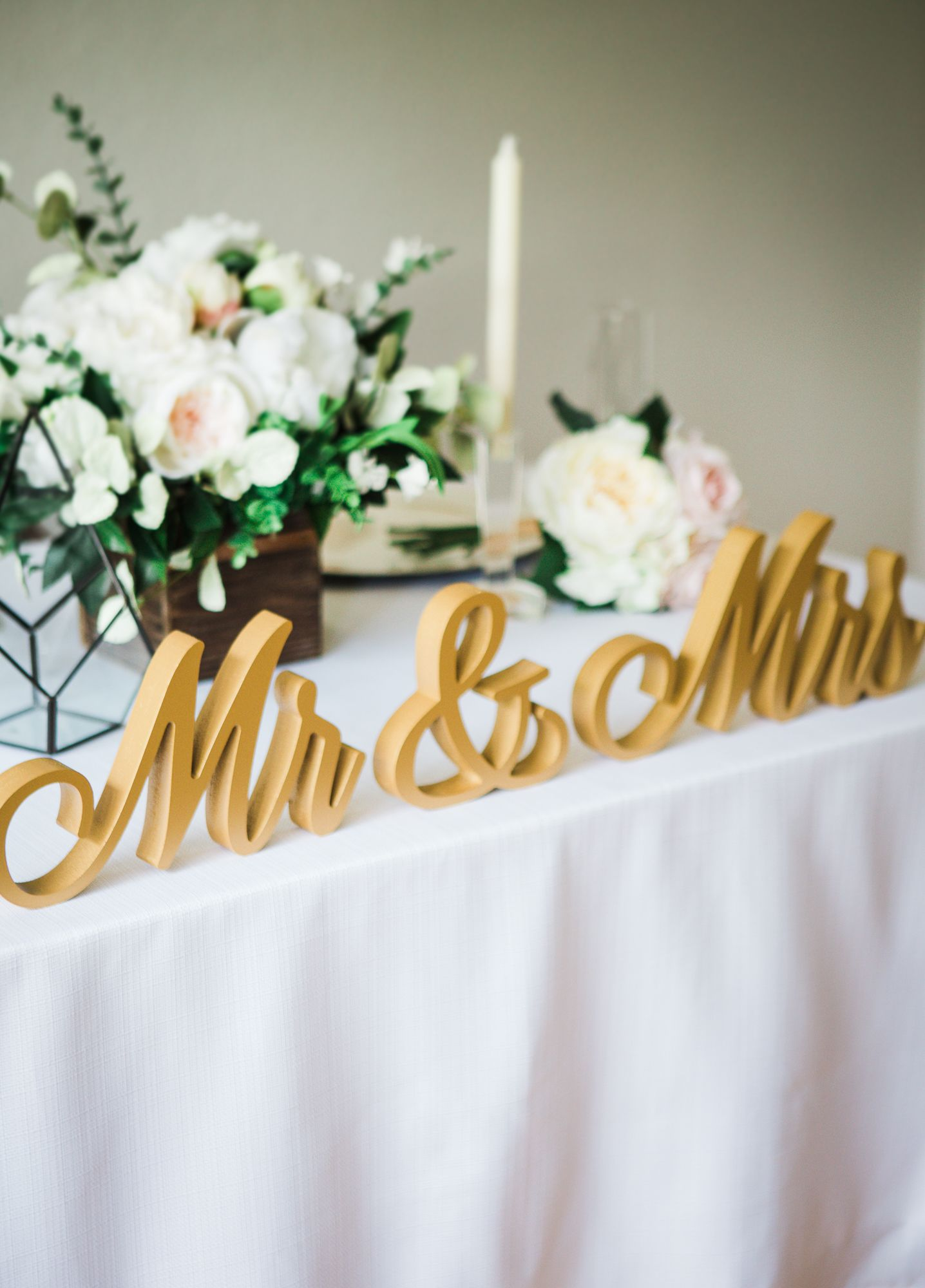 Script Mr And Mrs Wedding Signs For Wedding Sweetheart Table Etsy Sweetheart Table Wedding Personalized Wedding Decor Signing Table Wedding