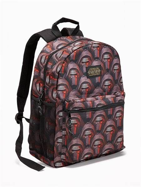 4068d0c6af Boys of all ages with love this Old Navy Star Wards backpack for the new  school year.