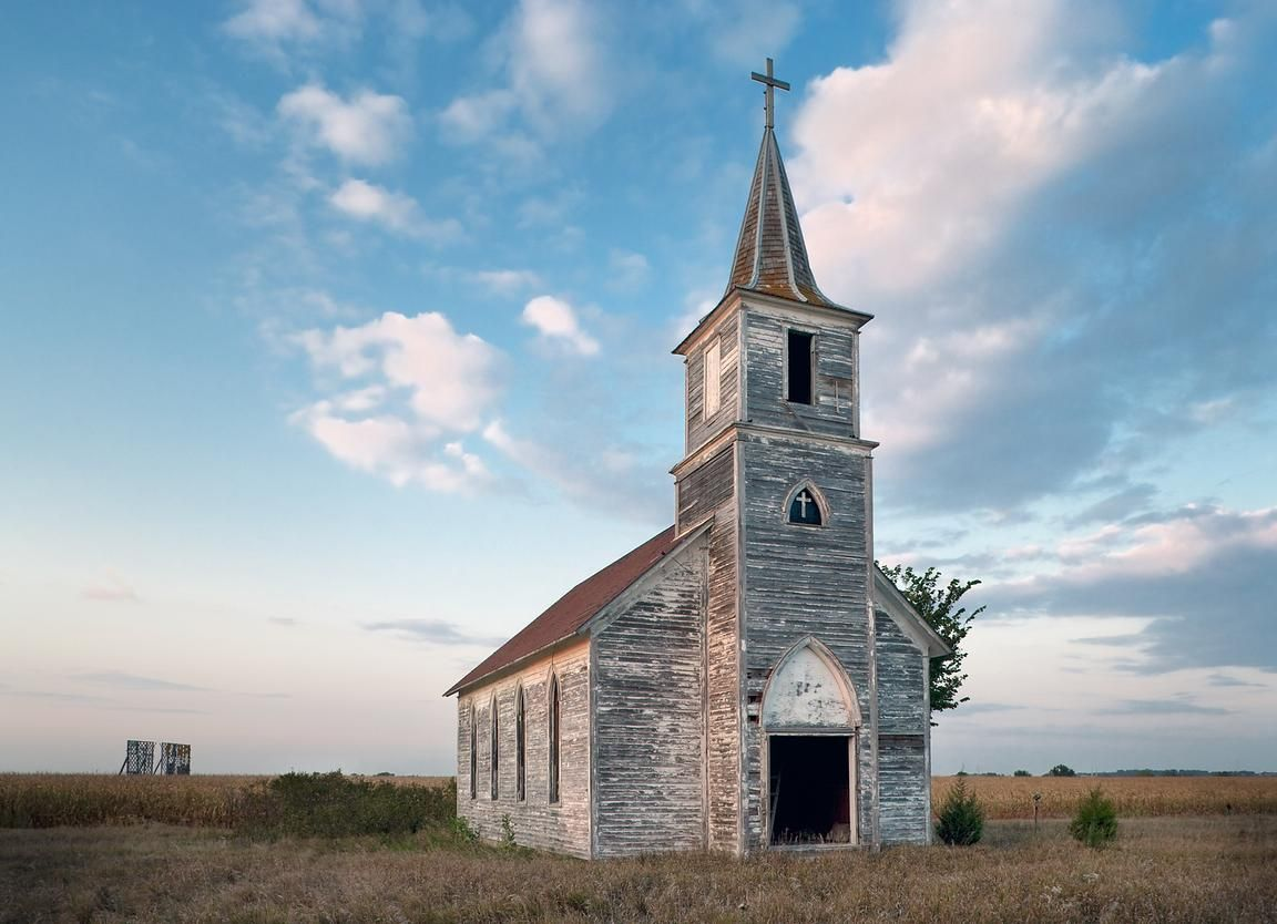 Old nebraska church country church pinterest churches and abandoned - Homes in old churches ...