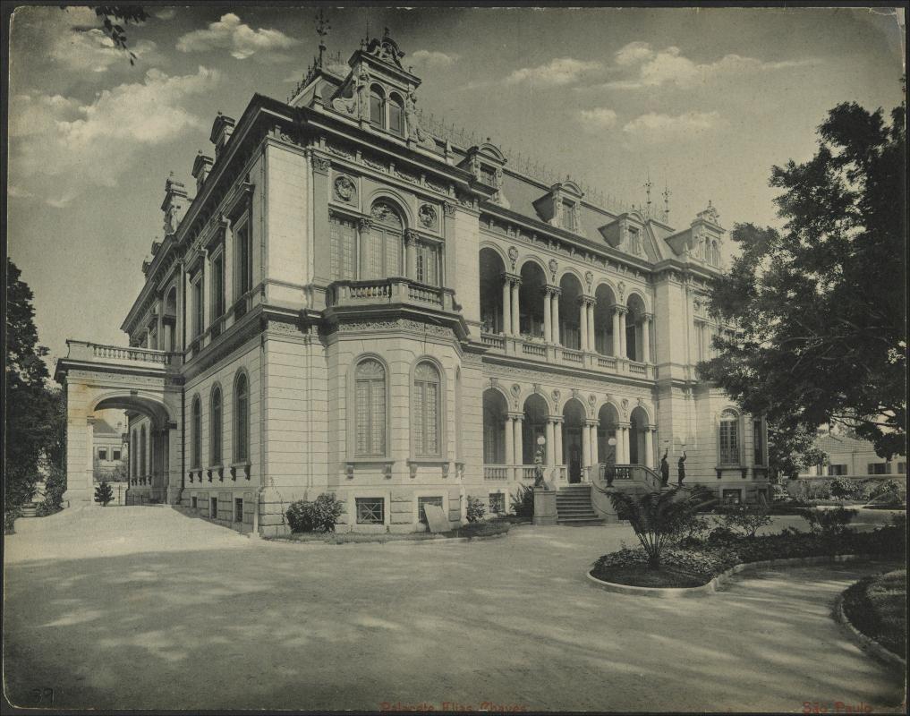 Palacete Elias Chaves Gaensly Guilherme 1843 1928 1902 Com