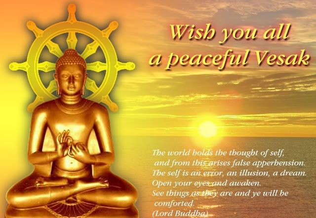 Happy Vesak Day Greeting Card Wallpapers Pictures For Wesak