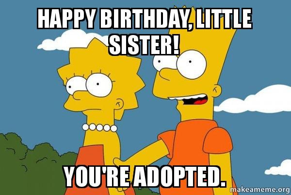 827dda3d80360655254a0b4d11db85fa happy birthday sister wishes cake images, memes & quotes,Happy Birthday Memes Sister