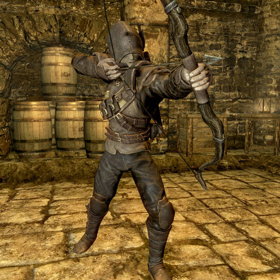 Niruin Thieves Guild Outfit   Skyrim   Skyrim, Cosplay