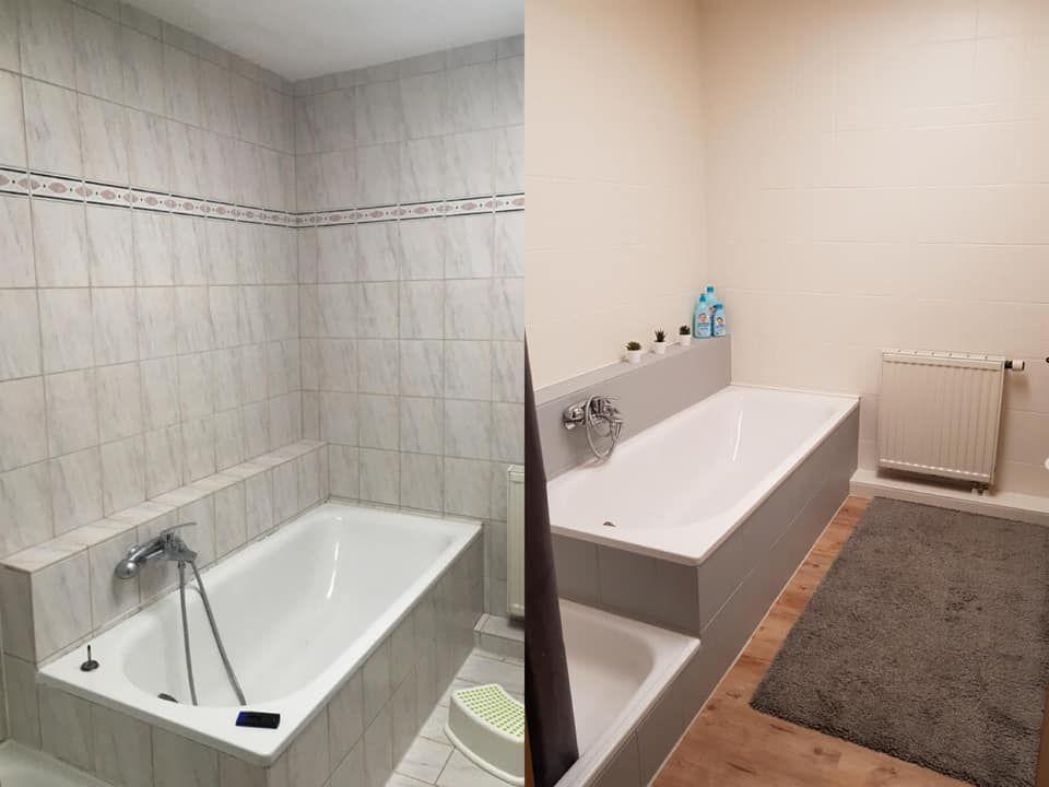 Bathroom Bathtub Bathroomdecoration Bathroom Das Fliesen