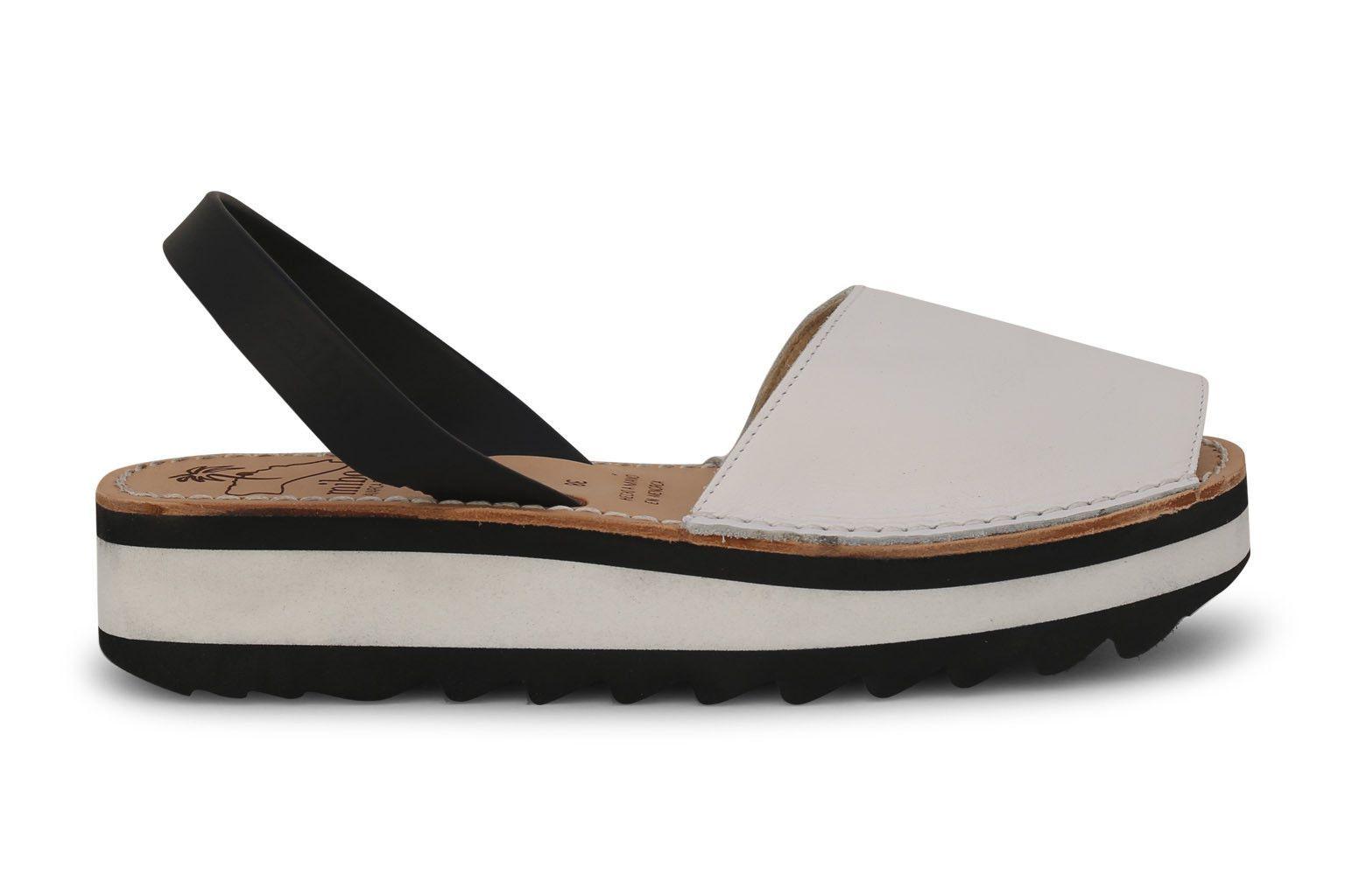 0bf835aa6 Mibo Sport Avarcas White Menorcan Sandals