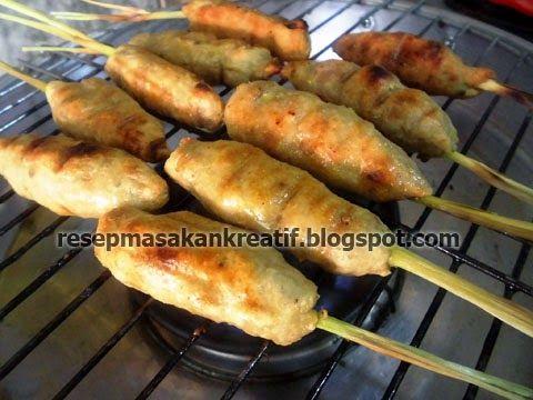 Resep Sate Lilit Ayam Khas Bali Resep Masakan Indonesia Resep Masakan Makanan Ringan Sehat