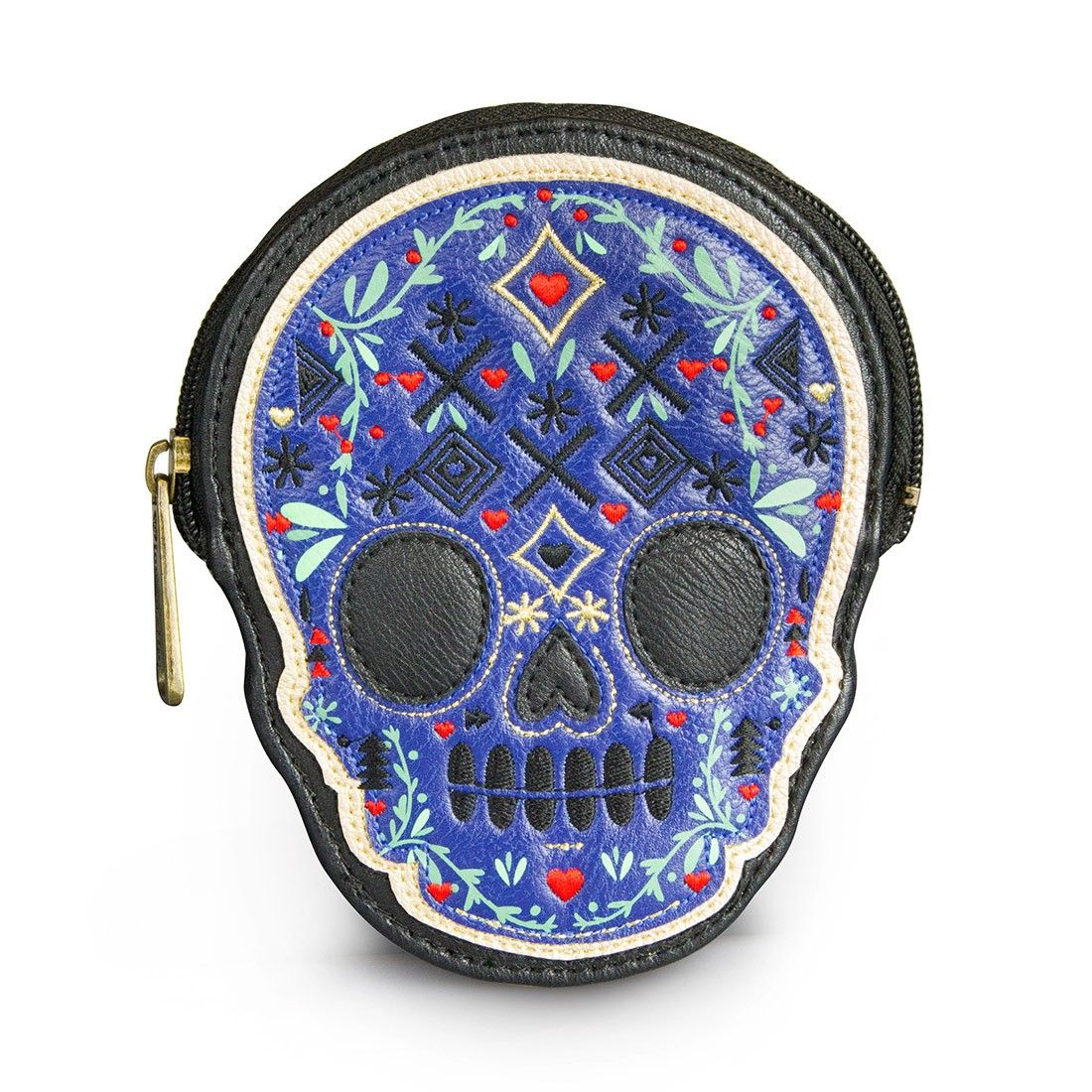 Loungefly Skull With Metallic Print Coin Bag - View All - Bags