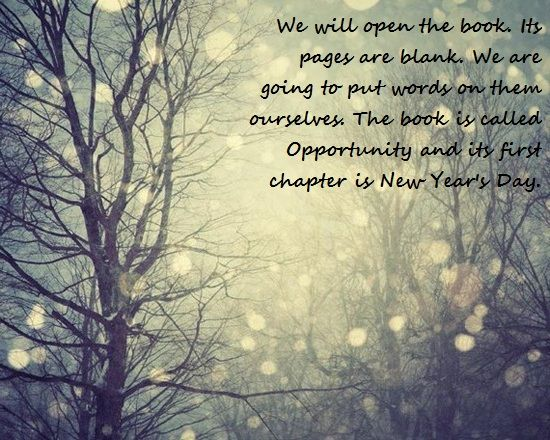 new years quote ready to write my book of opportunity happy new year 2017