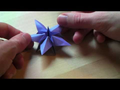 origami etoile de no l origami origami. Black Bedroom Furniture Sets. Home Design Ideas