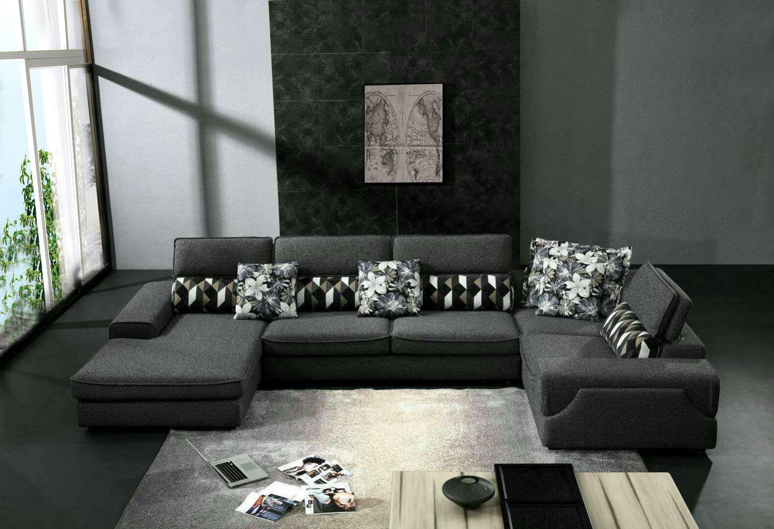 Pin By Loy Liu On Modern Sofa Modern Sofa Living Room Sectional Grey L Shaped Sofas
