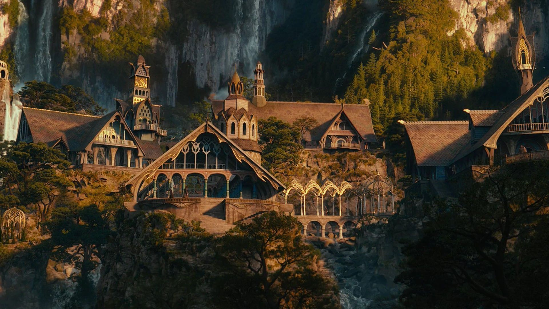Rivendell hd wallpapers geeking rivendell and other middle earth architecture pinterest - Hd wallpaper of home architecture ...