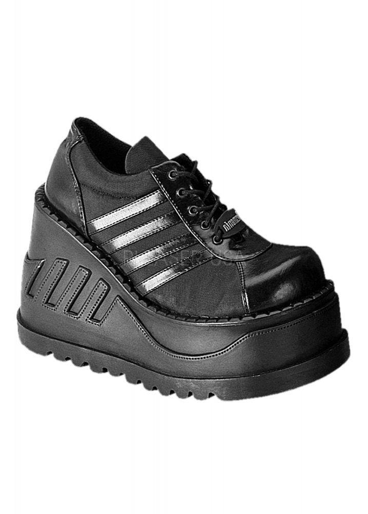 0ffa8bb2685 Demonia Stomp 08 Shoe | Платформа | Shoe boots, Gothic shoes, High ...