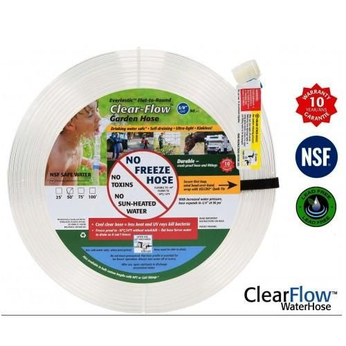 Our Clear Flow Water Hose is toxin free drinking water safe eco friendly  sc 1 st  Pinterest & Our Clear Flow Water Hose is toxin free drinking water safe eco ...