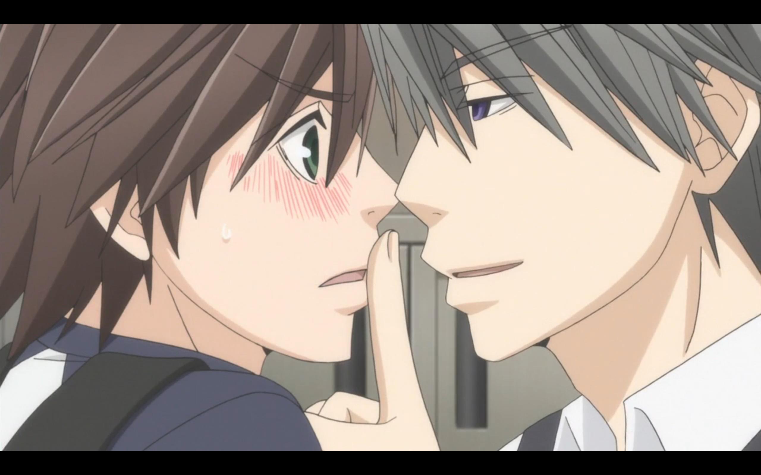 Misaki x Usagi~Junjou Romantica S03   Junjou romantica ...