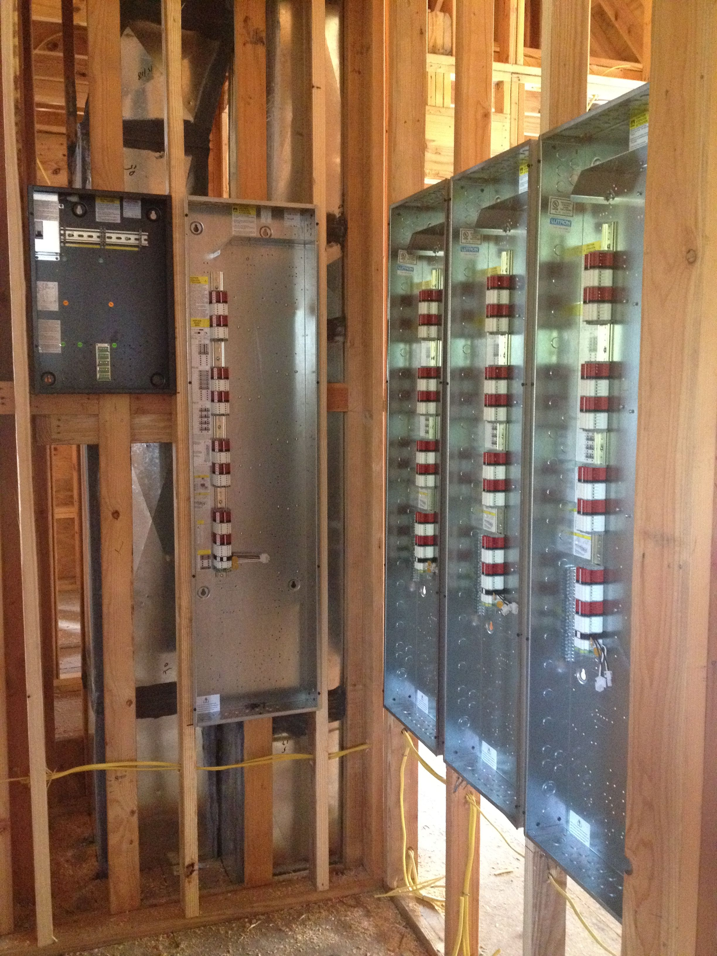 Lutron Homeworks - Whole house lighting control system being ...