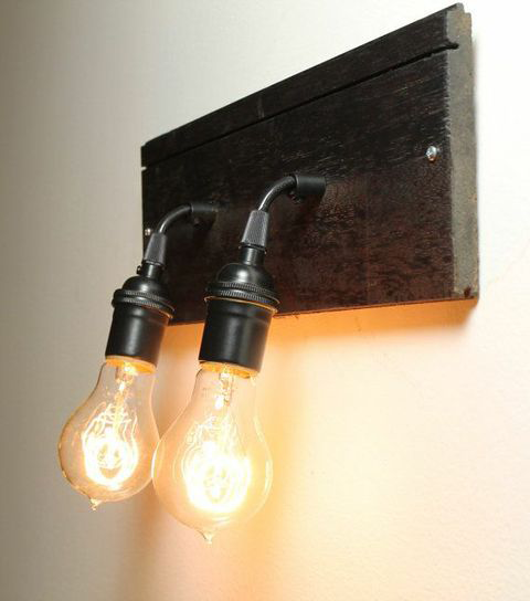 Industrial Wall Sconce.