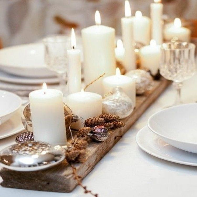 25 Deco Noel A Fabriquer En Famille Deco Noel Deco Table Noel Decoration Noel