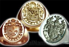 Family Crest signet ring. No idea why I'm so obsessed with this idea, but I just want one for some reason. Then I can stamp letters in red wax and feel like a queen. ;P