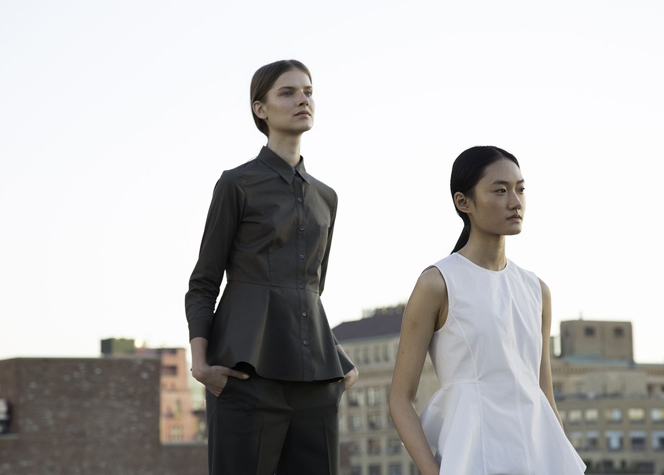 Theory | The SS16 presentation on our Meatpacking rooftop comes with modern workwear and elevated casual silhouettes.
