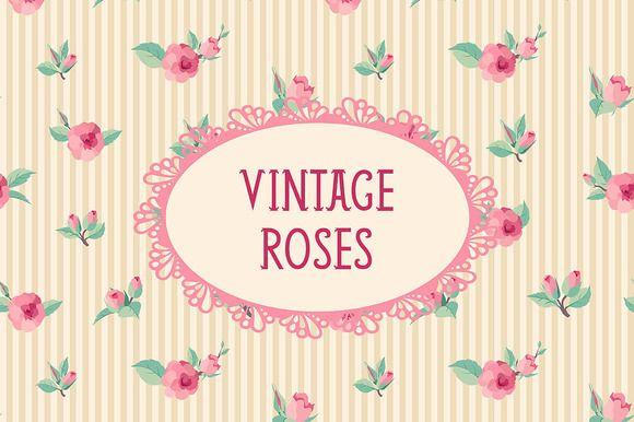 Check out Vintage roses by Evgeniya Ivanova on Creative Market