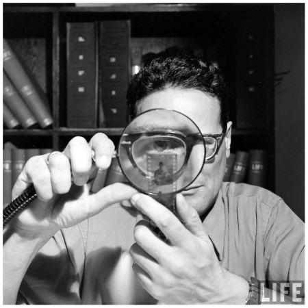 Andreas Feininger Self-portrait 1946 a