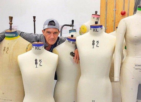 Antonio Banderas está na 2ª semana de curso na St Martins! Por que será?