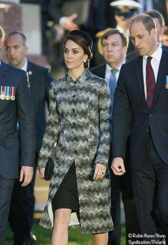 Kate looking stressed.