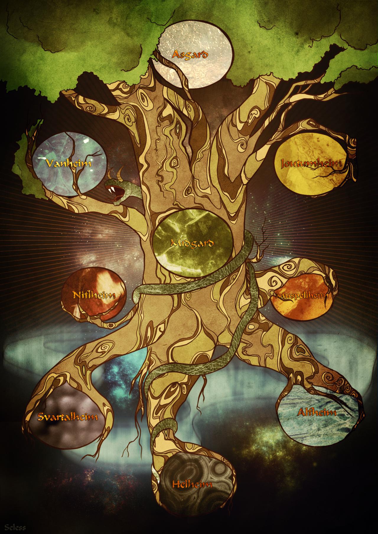 Yggdrasil Baum